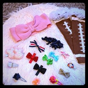 Baby Girl accessory lot